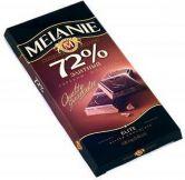 """Шоколад """"MELANIE"""" Элитный Горький 72%, 100 г."""