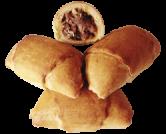 Рогалики с грецким орехом