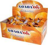 Апельсин Жевательная резинка с наполнителем, 4.5 гр.
