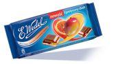 Шоколад молочный «WEDEL» с начинкой  со вкусом апельсина и манго, 100 г.