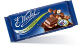 "Молочный шоколад ""WEDEL"" с  начинкой из арахиса и фундука, 100 г."