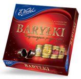 """Конфеты """"BARRELS""""   Шоколадные бочонки с алкоголем, 200 г."""