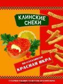 Сухарики ржаные по-сахалински со вкусом красной икры 40 г.