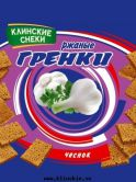 "Сухарики ""Гренки"" со вкусом чеснока 40, 130 г."