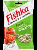 БЕЛЫЕ семечки «Fishka» со вкусом пикантных томатов, 100г