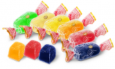 Конфеты желейные Пчелка (груша, клюква, апельсин, лимон, яблоко, смородина)