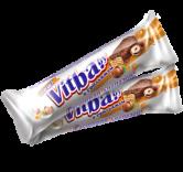 Вафельный батончик «vitba.by с грильяжем в молочной глазури»