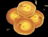 Печенье песочное с кремовой начинкой