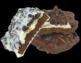Печенье с изюмом и ванильным кремом